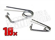 20 Piece Set (10 Large, 10 Small) Clip Spring Retainer / Cotter Pins Go Kart