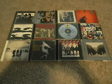 LOT OF 12 U2 CD'S