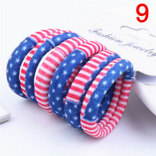 Girl Kids Tiny Hair Bands Elastic Ties Ponytail Holder Thick Bobbles Hair Bands-