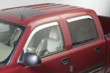 Dodge Ram Quad Cab 09 - 14 Windabweiser Satz Chrom Vent Visor 4 Stck.Abweiser