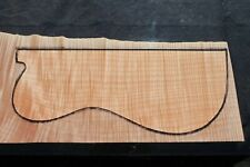 "AWESOME CURLY MAPLE 21 3/4"" X 8 3/4"" X 1 1/8"": GUITAR, LUTHIER, CRAFT, SCALES"