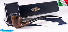 Pipa pipe pfeife Savinelli lunga churchwarden brown rusticata 921 made in italy