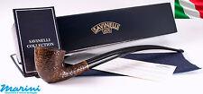 Pipa pipe pfeife Savinelli Churchwarden rusticata marrone 921