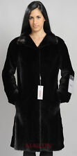 Black Mink Coat with sheared sleeves- Size Small/Medium EU38/40