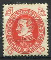 Danemark 1930 Mi. 189 Neuf * 80% 15 ou, le roi Christian X