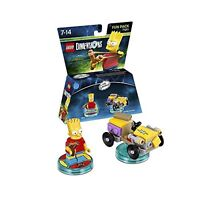 LEGO Dimensions Fun Pack Simpsons Bart 71211 IT IMPORT LEGO