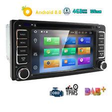 4+32G Android 8.0 Radio for Toyota Corolla Auris Fortuner Estima Stereo GPS Navi