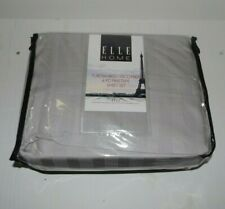 NEW-Elle Home Pure Bamboo Visco Fiber 4 Pc. King Sheet Set-300 Thread Count