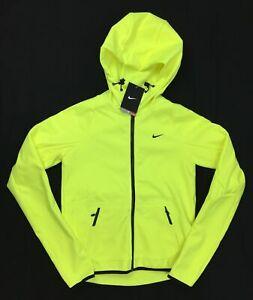 Nike Women's Neon Yellow Size X-Small Storm-Fit Full Zip Training Jacket