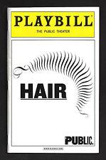 "Will Swenson ""HAIR"" Patina Miller / Jackie Burns / Diane Paulus 2008 Playbill"