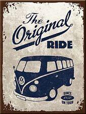 "JUMBO FRIDGE MAGNET 2 1/2"" X 3"" VW CAMPER THE ORIGINAL RIDE  F.U.M. TOOLS FUM"