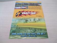 >> SEGA CRAZY TAXI ARCADE RARE ORIGINAL JAPAN HANDBILL FLYER CHIRASHI! <<