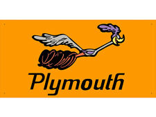 vn0856 Plymouth Road Runner Sales Service Parts for Display Banner Sign