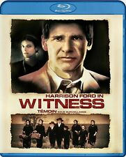 NEW BLU RAY - WITNESS - Harrison Ford , Kelly McGillis , Lukas Haas - PETER WEIR