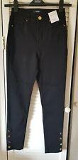 M&S Per Una black skinny jeans size 8 regular BNWT £35 RRP