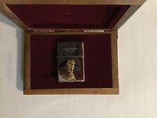 ZIPPO FRANCE 1998 WORLD CUP LIGHTER LIMETED EDITION NUMBER 3408/5000