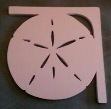 "PVC Sand Dollar Corner Brackets . 12"" x 12"" x 1/2"" flat PVC"