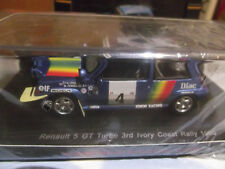 Renault 5 GT Turbo #4 Oreille Ivory Coast Rally 1990 1/43 Spark S3860