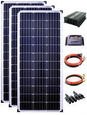 solartronics Solar Set 3x100Watt Mono12V 1200mm Wandler 1500W 20A Regler gelb