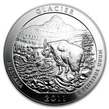 2011 5 oz Silver ATB Glacier National Park, MT - SKU #61840