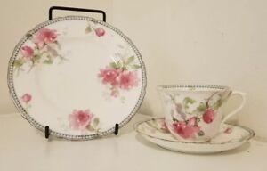 Royal Doulton waratah 3 piece tea cup and plates