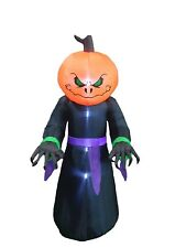 Halloween Air Blown Inflatable Yard Party Blowup Decoration Pumpkin Head Monster
