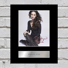 Megan Fox Signed Mounted Photo Display