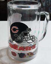 CHICAGO BEARS MUG Big Freezer Mug Filled With Football Stuff NFL Football FROSTY