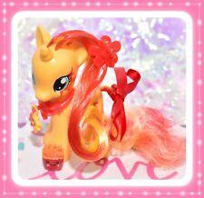 "❤️My Little Pony 3"" Brushable SUNSET SHIMMER Cutie Mark Magic CHARM Fire G4❤️"