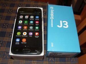 Téléphone portable SAMSUNG  Galaxy  J3-16 GB- Noir SAM GXY (2017)