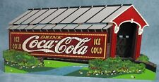 Shelia's Wooden Historic House Drink Coca Cola Ice Cold Cover Your Thirst 1998