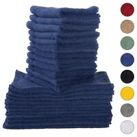 NEW NAVY BLUE Color ULTRA SUPER SOFT LUXURY PURE TURKISH 100% COTTON WASHCLOTHS