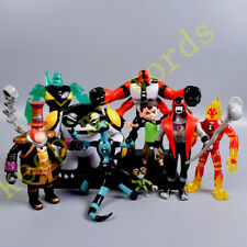 9 Pcs Lot Ben 10 Cartoon PVC Action Figure Play Toy Cake Topper Doll Kid Boy