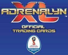 PANINI ADRENALYN XL 2018 FIFA WORLD CUP FOOTBALL FINISH SET PICK ANY 3 CARDS