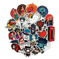 50 pcs/pack classic style graffiti stickers for car, suitcase tool, skateboard