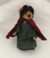 """Rare COTTAGE COLLECTIBLES Miniatures By Ganz """"Melchior"""" The Wise Man Bear"""