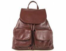Italian Real Genuine Leather Rucksack / Backpack - brown