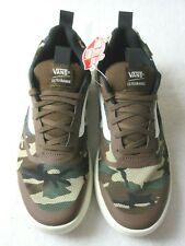 Vans Womens UltraRange Rapidweld Nomad Camo Brown Green Skate shoes Size 8 NWT