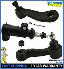 3 Pc Steering Kit Pitman & Idler Arm Bracket Pivot For GMC Chevrolet Silverado