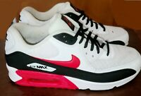NIKE AIR MAX 90 UNIVERSITY RED BLACK WHITE SIZE 10 BV2522