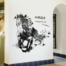 Running Horse Sketch Room Home Decor Removable Wall Sticker Decal Decoration