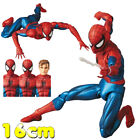 Spider Man Mafex 075 Comic Ver Joints Movable Figure Model Toys Collectible 16cm