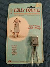Holly Hobbie Die-Cast Metal ~ Camera with Working Tripod ~ Dollhouse Size