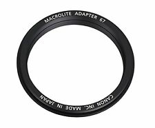 Canon Official MLADP67 Macrolite Adapter 67 Made in Japan F/S