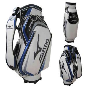 New Mizuno JPX Golf Staff Cart Bag - white/blue