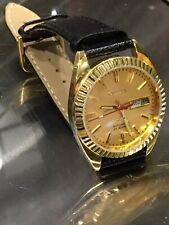 Citizen Mens 21j Vintage Automatic Watch 4-281080KT -DAY/DATE  GN-4W-S ~ 71-2591
