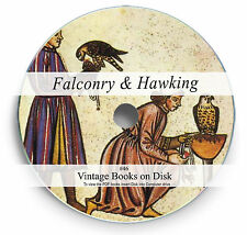 Rare Books on DVD Falconry Hawking Birds of Prey Hunting Hawk Falcon Raptors 46