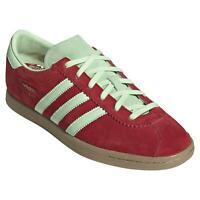 adidas ORIGINALS STADT TRAINERS SHOES SNEAKERS RED CASUALS FOOTBALL NEW BNWT OG