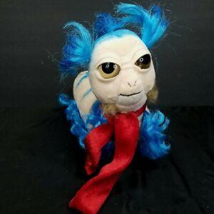 The Worm Labyrinth Plush Ello Jim Henson Movie Stuffed Animal Blue Big Eyes