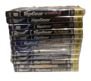 Bulk Lot Of Top Gear Dvd Includes Challenges Region 4